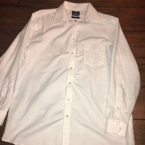 Stafford Wrinkle Free Button Down Shirt